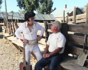 Elvis visits Jacobs Family Berry Farm in Gardnerville