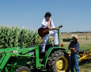 Elvis visits Corley Ranch in Gardnerville